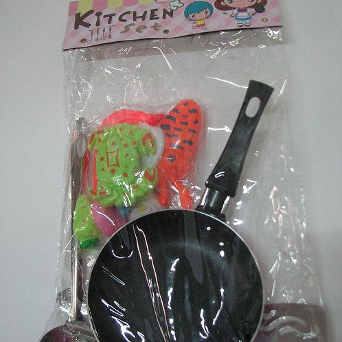 11-248-19 Набор Посуда с продуктами в комп. в/п 26*14*3 см