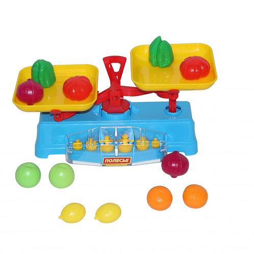 16-015 Игровой набор Весы + Набор продуктов (12 элементов)
