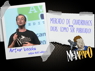 Arthur Vecchi e o mercado de quadrinhos