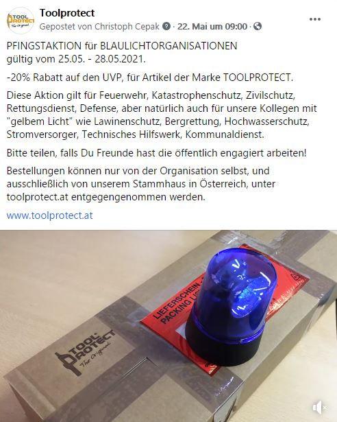 Toolprotect_unterstützt_Blaulicht_5.2021