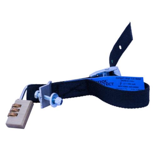 Sicherungsgurt, schwarz, schnittfest, absperrbar – SGS
