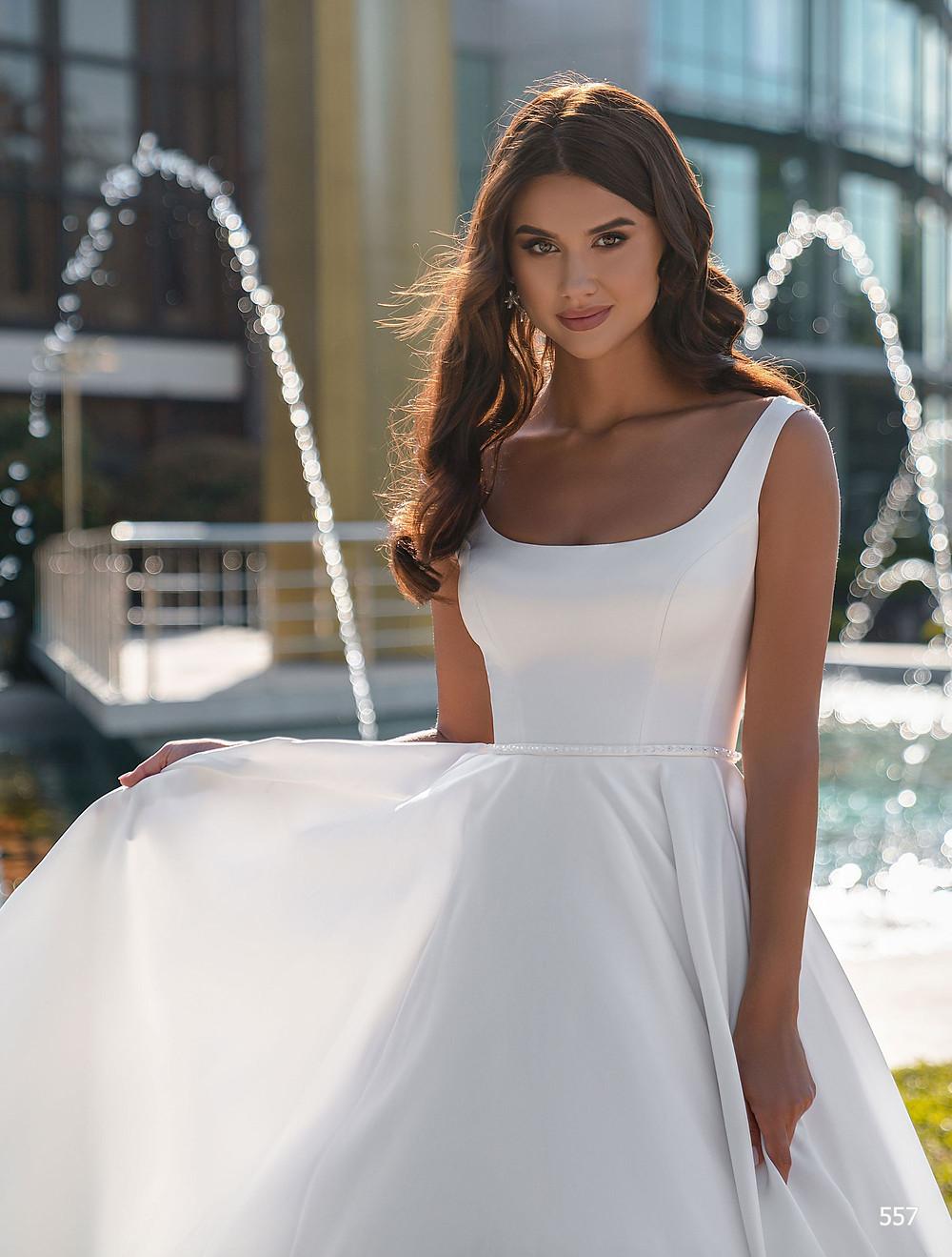 rochii de mireasa simple, rochii de mireasa 2 in 1, rochii de mireasa tip A