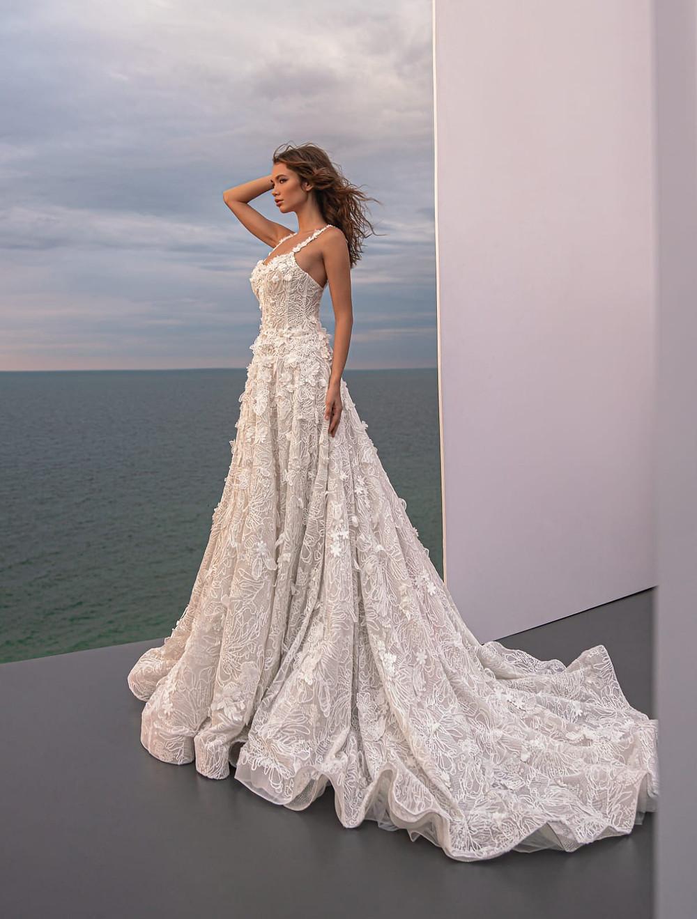 rochii de mireasa stil A, rochii de mireasa lux