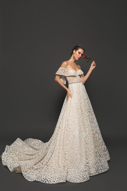 rochii de mireasa luc, rochii de mireasa stil A