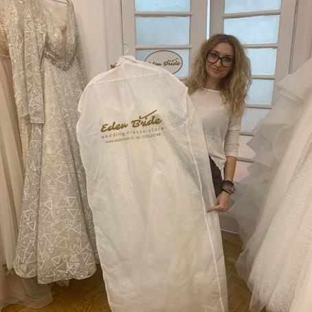 Cum depozitez rochia de mireasa?