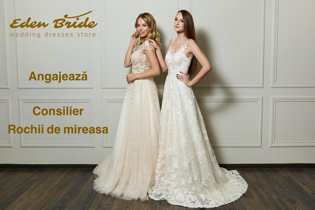 Eden Bride Cauta Consilier Vanzare Rochii De Mireasa