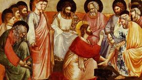 Quinta-Feira Santa: Lava-Pés e Eucaristia