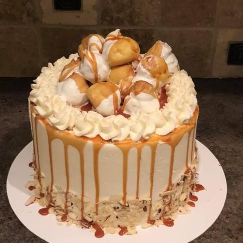 Spice Cake w Cream Puffs.jpg