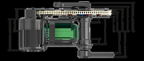 X1 PRO ebike motor bottom bracket option for BB92