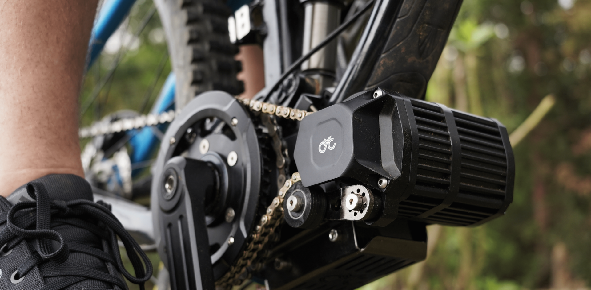 CYC X1 Stealth ebike and emtb mid drive conversion kit