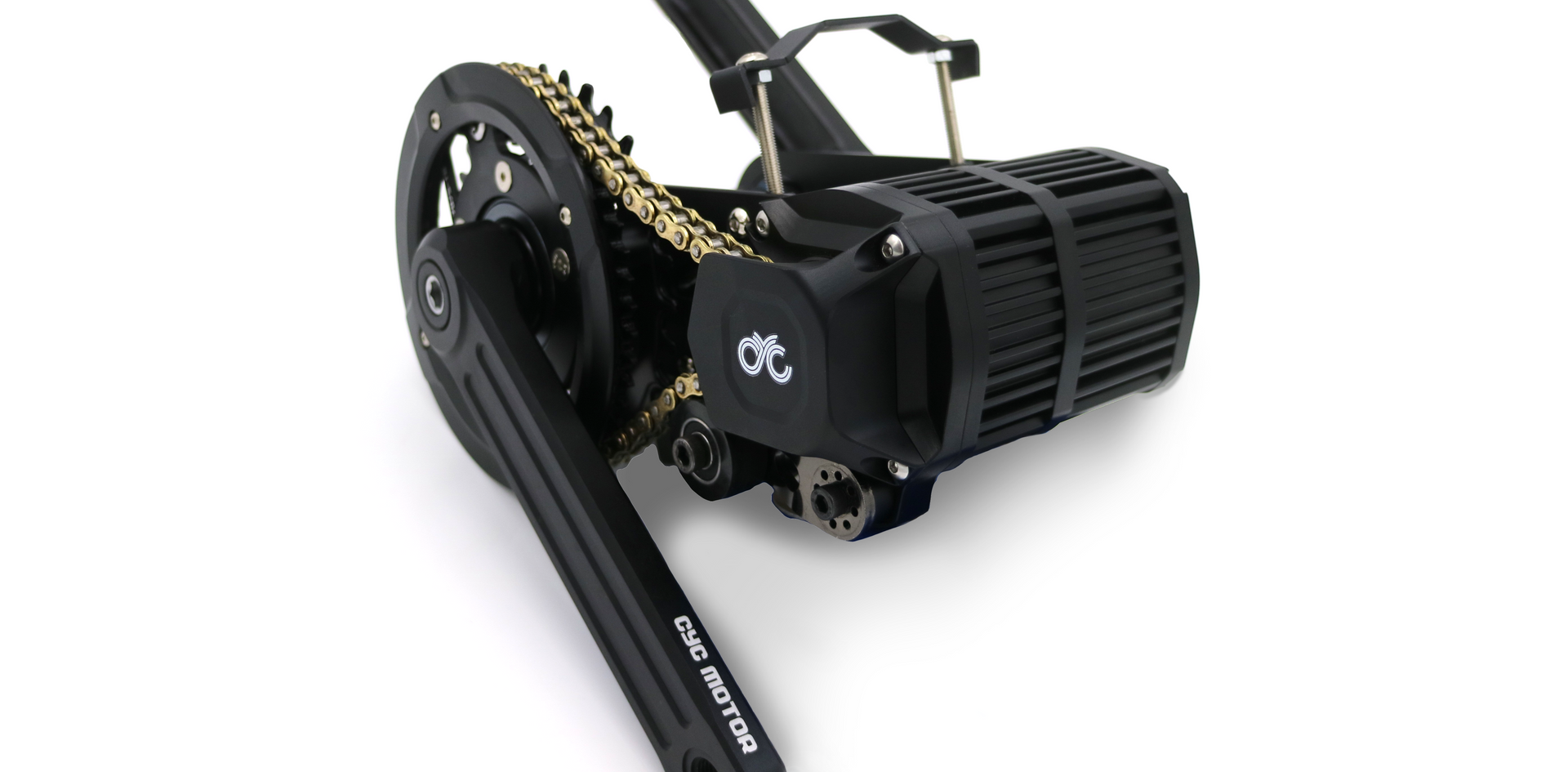 X1 Stealth mid drive motor side view
