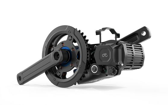 Lightweight mid drive conversion kit for ebikes and emtb