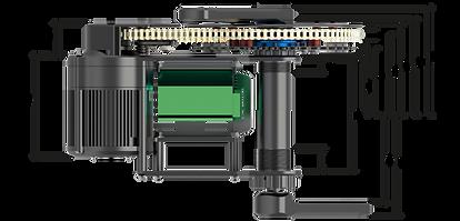 X1 PRO ebike motor bottom bracket option for 120mm