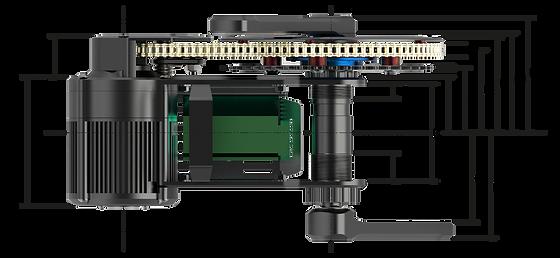 X1 PRO ebike motor bottom bracket option for 68-83mm