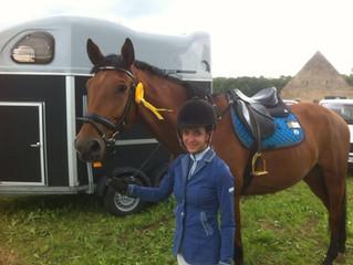 SIEG für CAVOFIT Team-Reiterin Jill und Aventus Go!