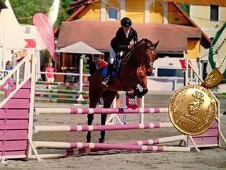 CAVOFIT-Reiterin Nina Maier auf Hit ist LANDESMEISTERIN!!!