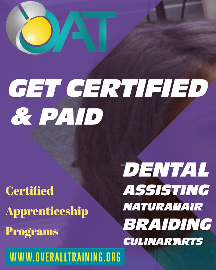 Get Certified with Over All Training pro