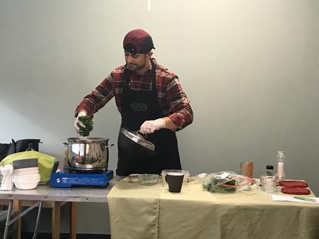Saturday Cooks With Matt! Kale, Quinoa, and White Bean Soup