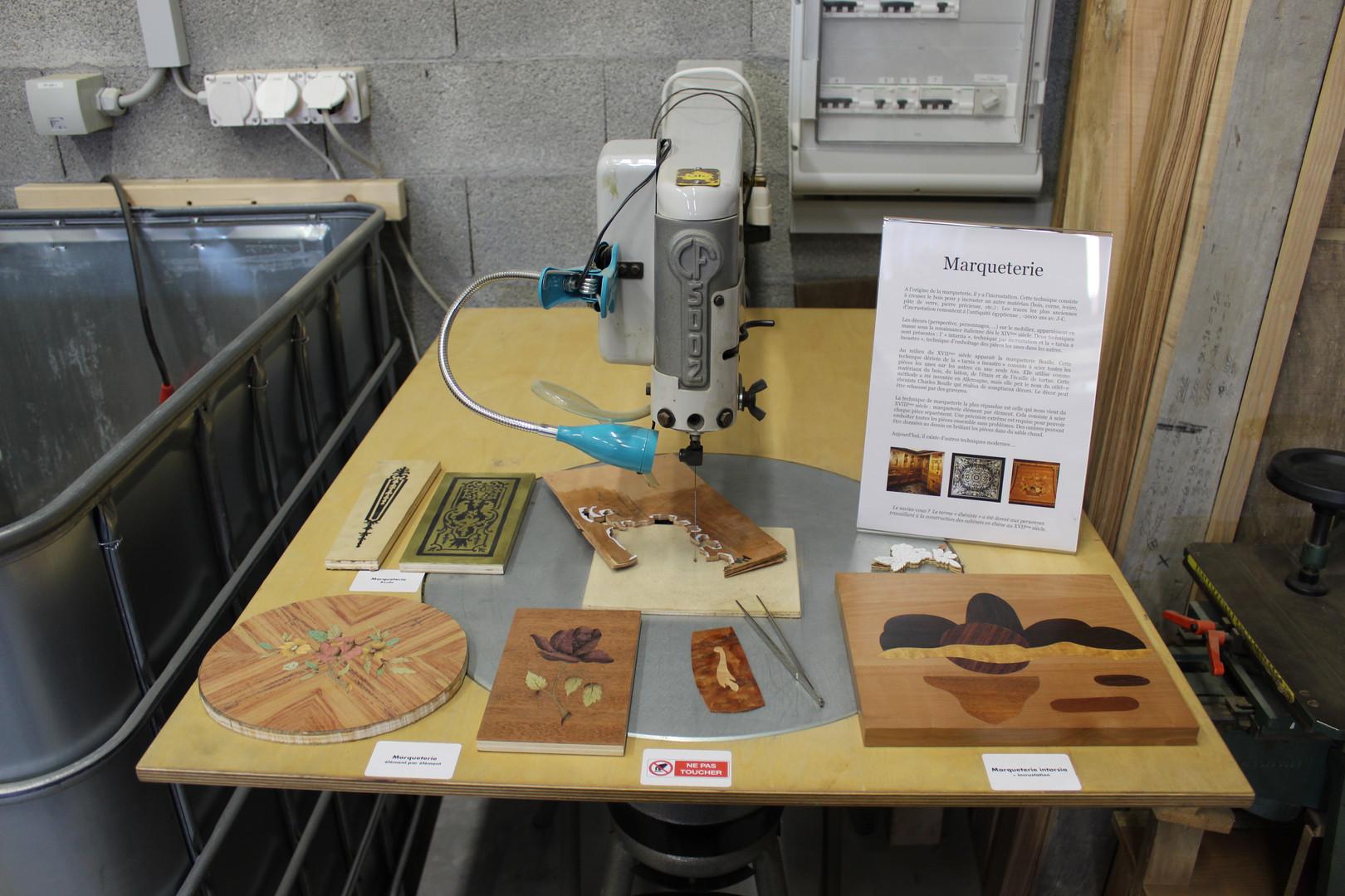 Workshop - marquetry