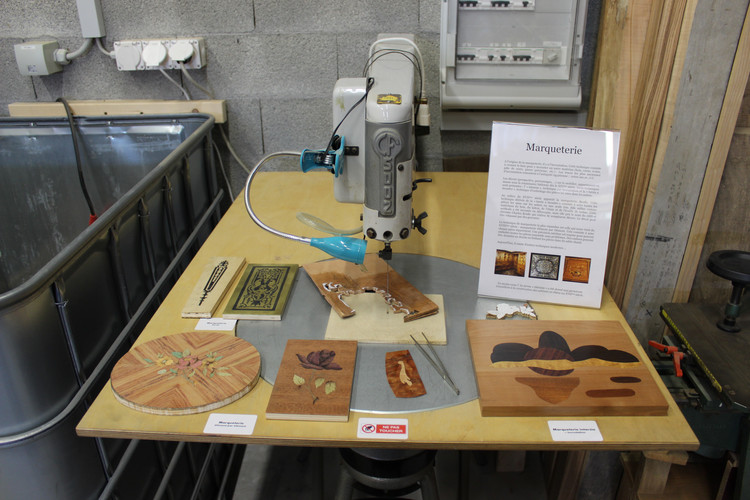 Workshop - marquetry