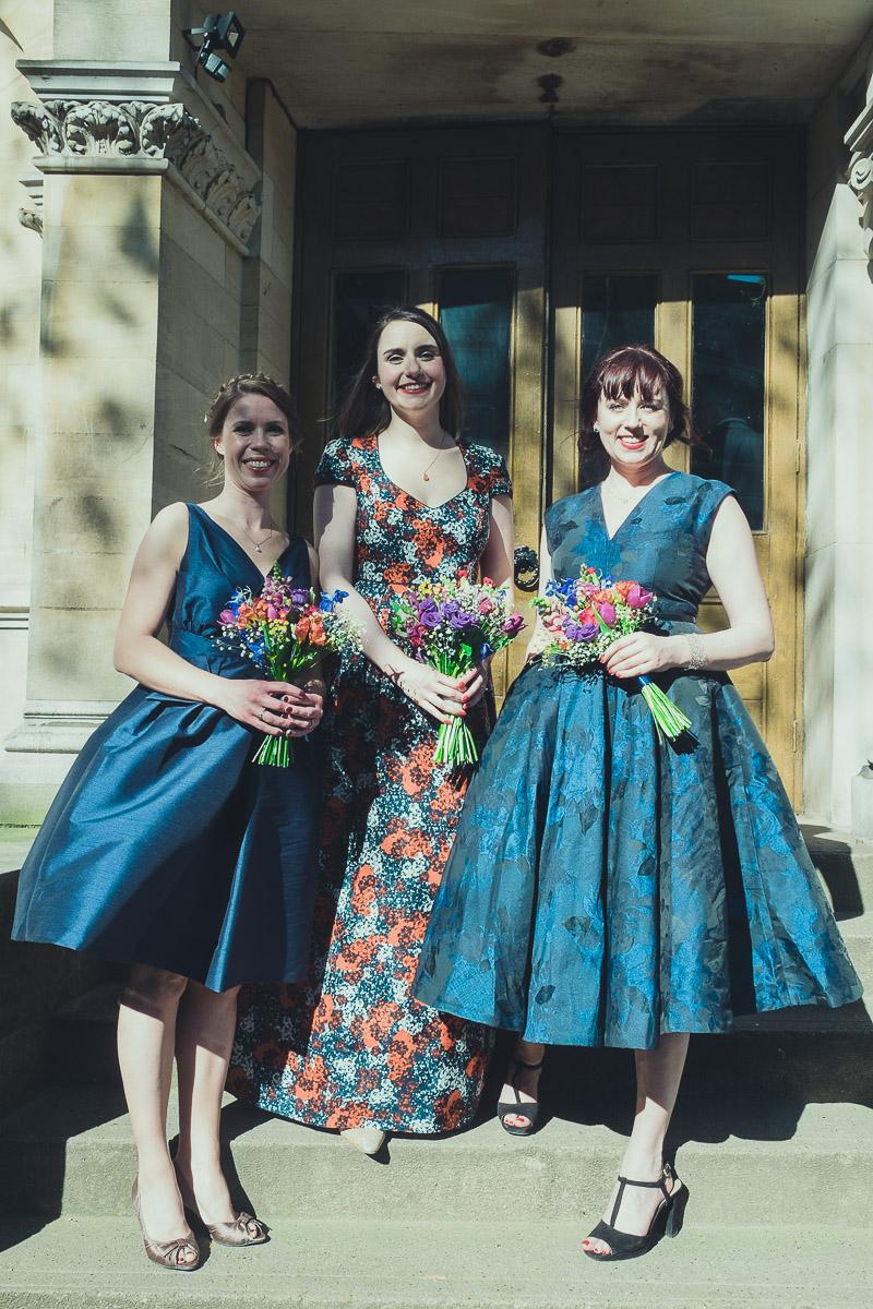 Spring wedding in Hackney