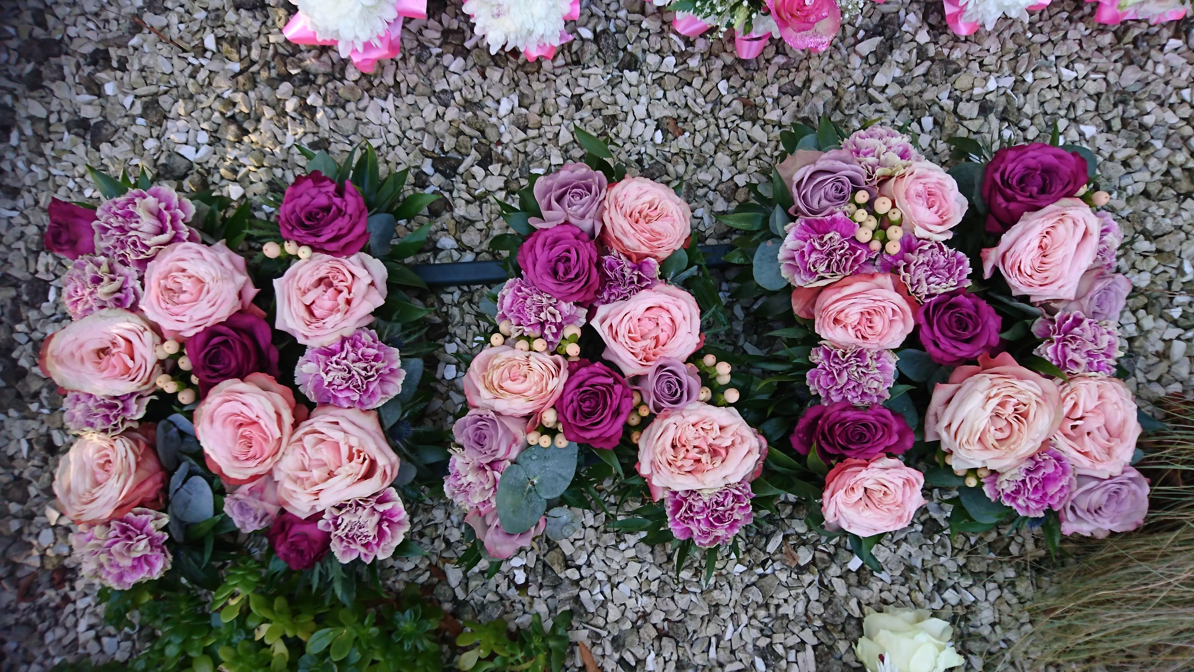 Nan floral tribute