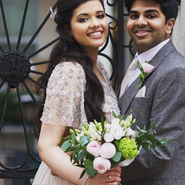 Peony wedding