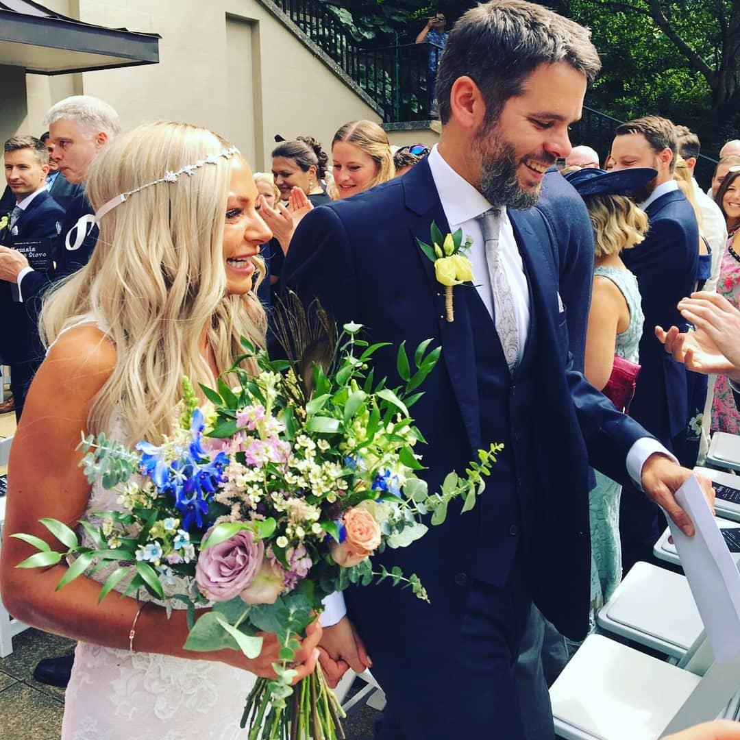 Luxury rustic bridal bouquet