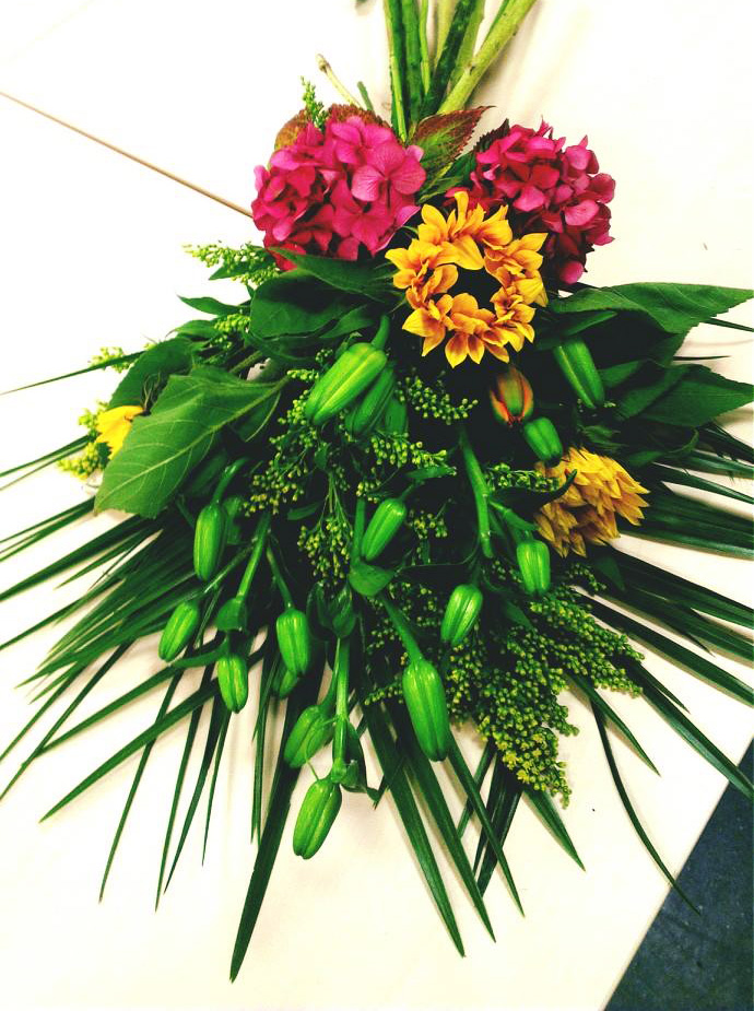 Presenation gift bouquet
