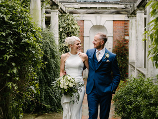 A summer's wedding in north London