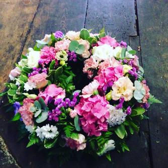 Farewell wreath