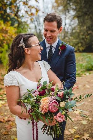 Freeform deluxe bridal bouquet
