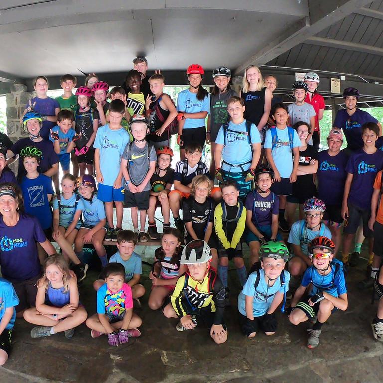 Kid's Mountain Bike Camp: July 5-9, 2021