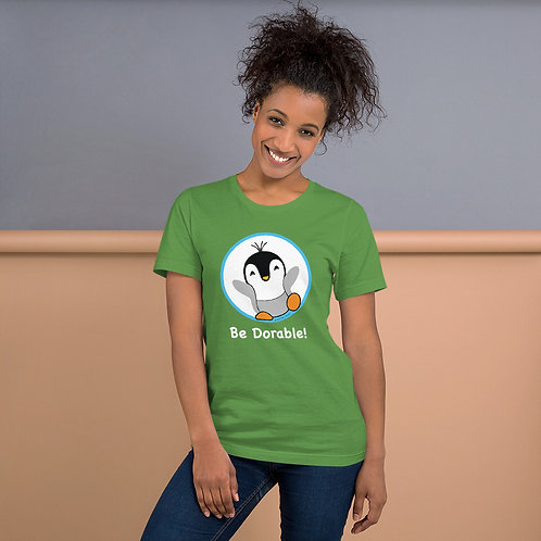 "Pauly Dorable ""Be Dorable"" Short-Sleeve Unisex T-Shirt"