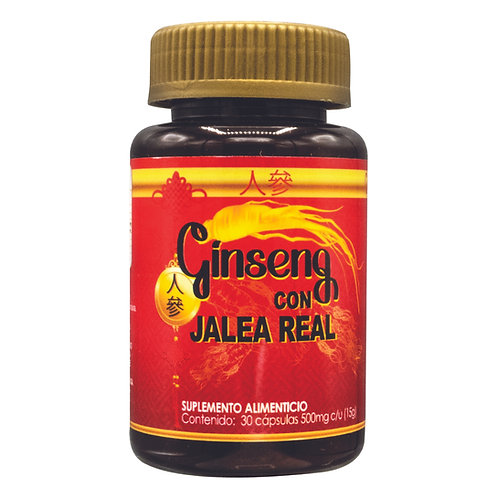 Ginseng con Jalea Real