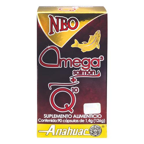 Neo Omega 3 de Salmón + Q10