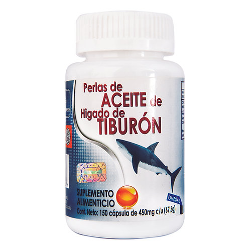 Perlas de Aceite de Hígado deTiburón