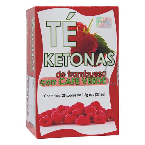 Té Ketonas de Frambuesa con Café Verde