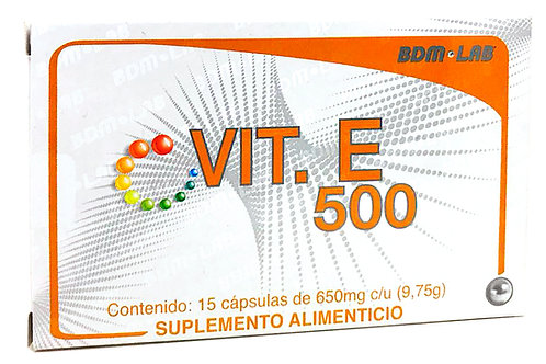 VITAMINA E 500
