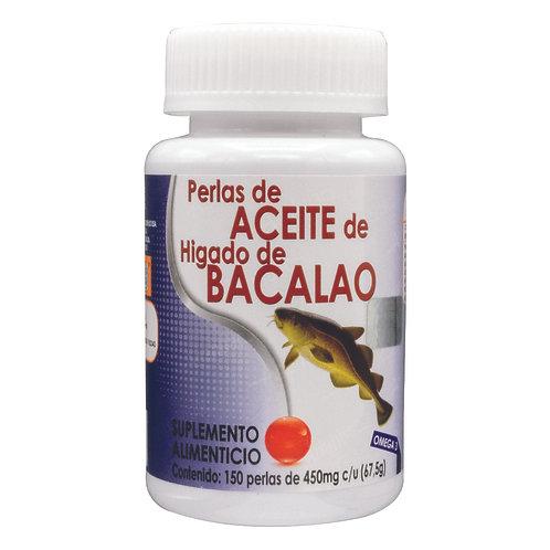 Perlas de Aceite de Hígado de Bacalao