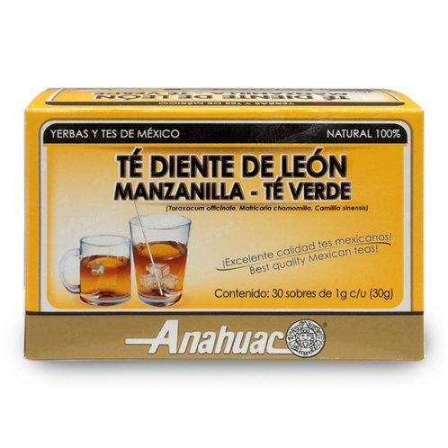 Té de Diente de León-Manzanilla-Te Verde