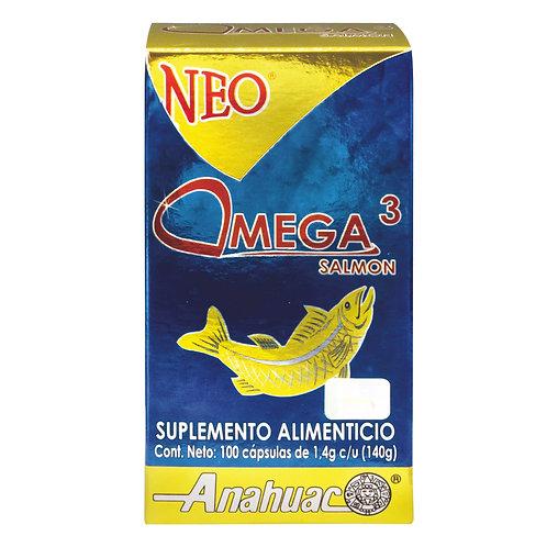 Neo Omega 3 de Salmón 100 Cápsulas
