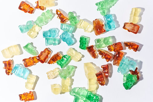 Alcohol Gummy Bear Table