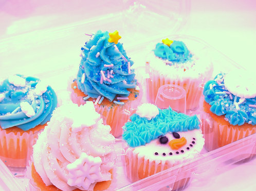 6 Pack Cup Cakes