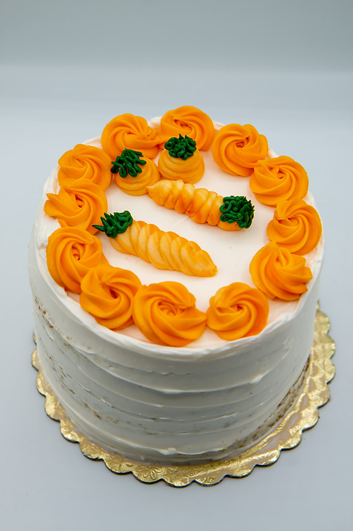 Carrot Cake with Cream Cheese Icing (7 in)