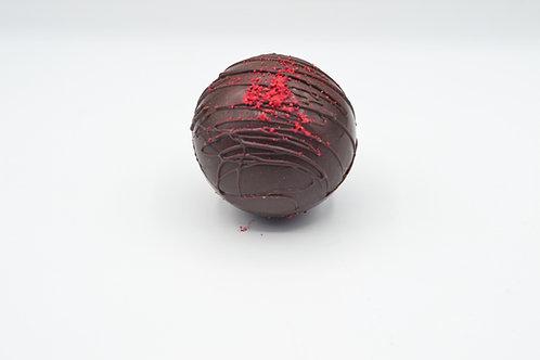 Chocolate Raspberry Coco Bomb