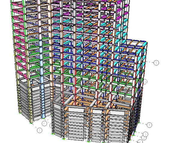 Modelo estructural Hotel