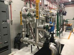 Instalación mecánica para vapor