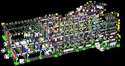 Modelo numérico de plaza comercial