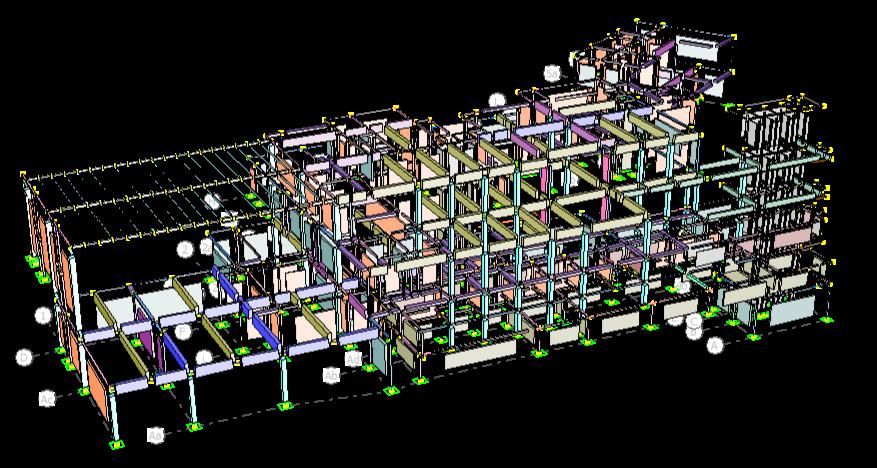 Modelo numerico plaza comercial